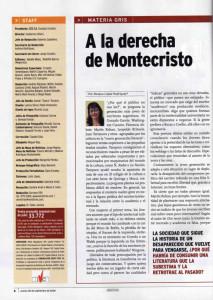 A la derecha de montecristo, parte 1, Rosana Lopez Rodriguez