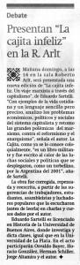 Cajita Infeliz Feria presentación