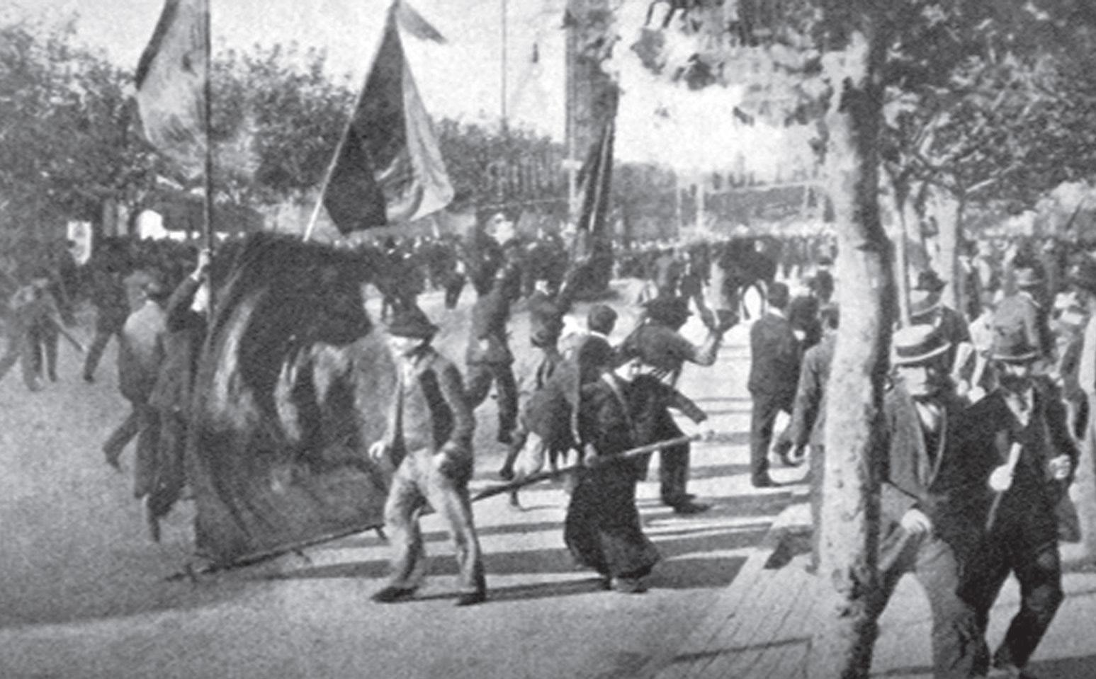 El rojo sueño del porvenir La huelga general de 1909 y la historiografía  académica argentina – Razón y Revolución