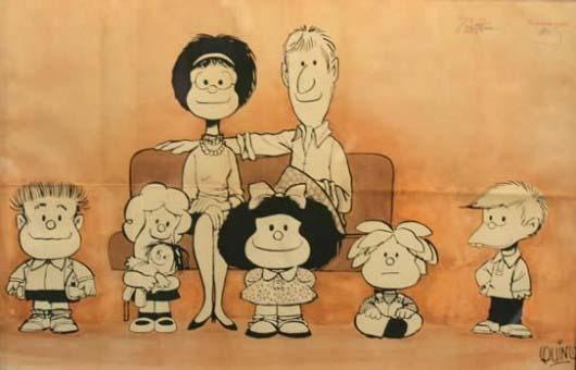 Mafalda-y-familia