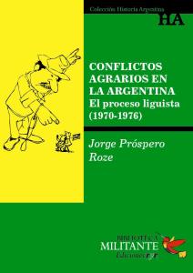 Portada Conflictos agrarios en Argentina