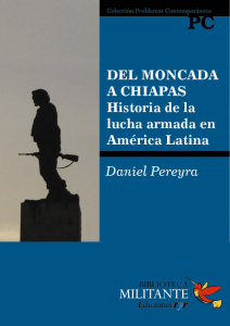 Portada Del Moncada a Chiapas