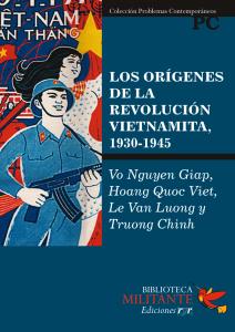 Portada Los orígenes de la revolución vietnamita, 1930-1945