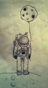 hombre lunar