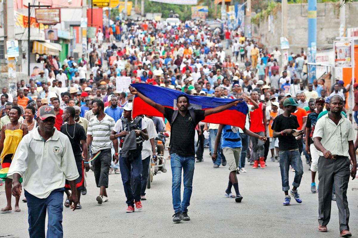 La crisis política en Haití. Sobre las protestas recientes en el país  caribeño – Razón y Revolución